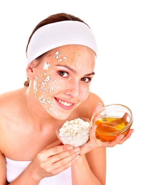 Anti-acne facial mask Natural Recipes for Skin Care