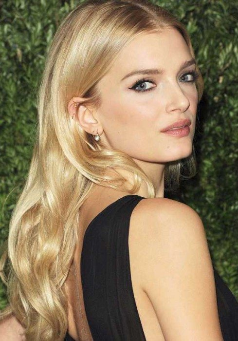 Celebrity Blonde Hairstyle 2016