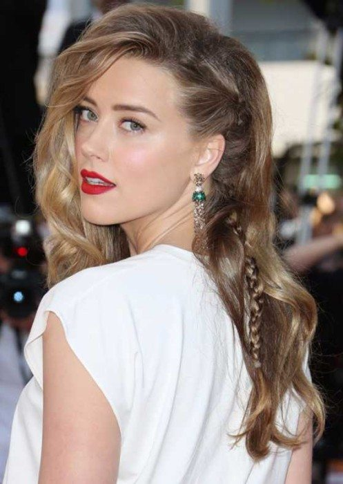 Celebrity Braided Hairstyle 2016