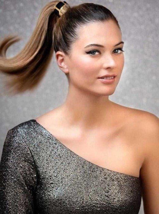 High Ponytail Hairstyle 2016