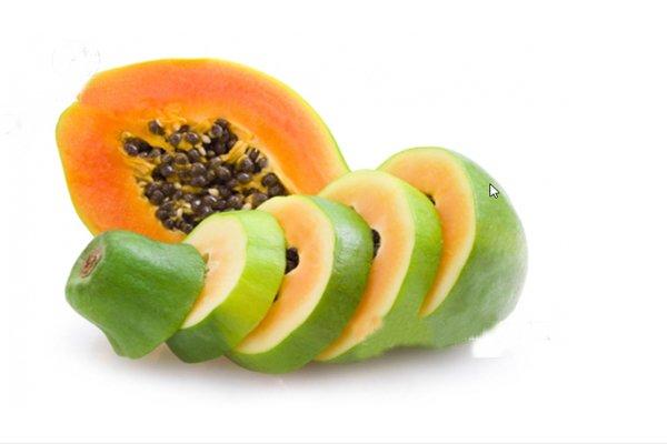Remove acne with Papaya