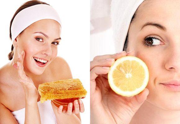 Honey and lemon juice