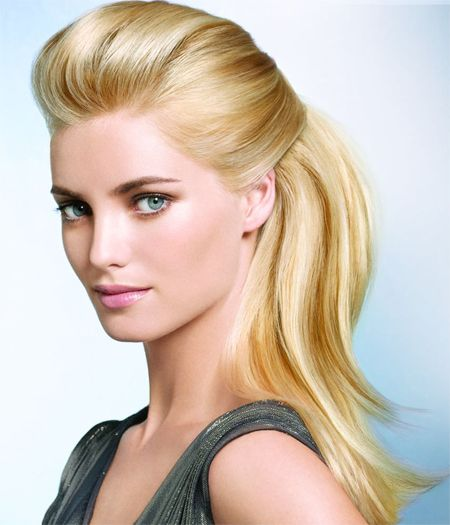 Long Pulled Back hairstyles
