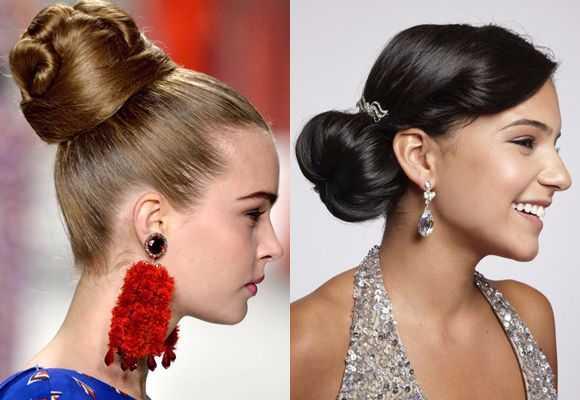 New Bun Hairstyles 2016