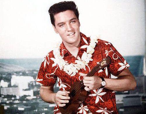 Elvis Presley style 1950s