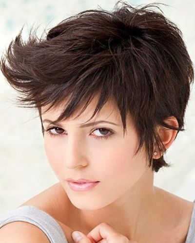 Short and Funky layered hair