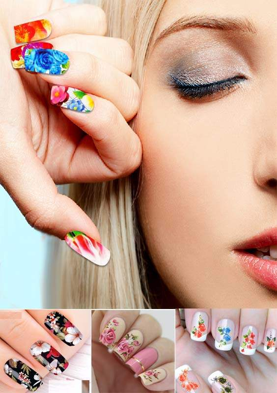 Best Sticker Nail Arts and Designs