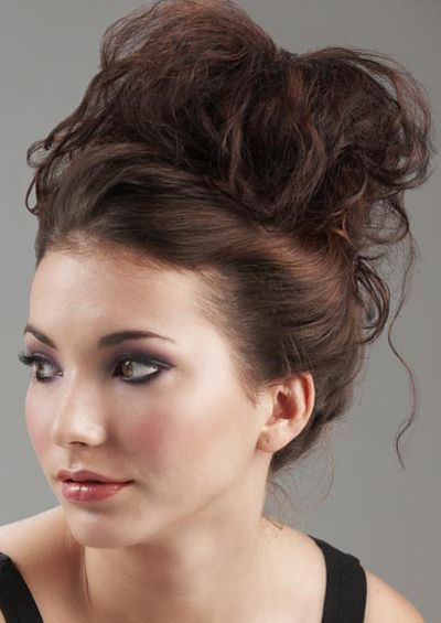 Cool Messy updos for women