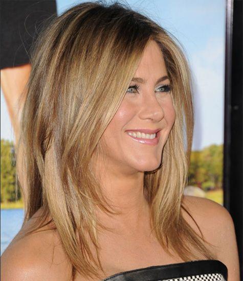 Jennifer Anniston choppy layers hair styles