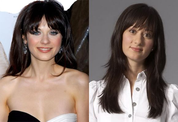 Picey and Long Bangs hairstyles