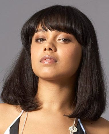 Silken texture of one length bob hairstyles trends