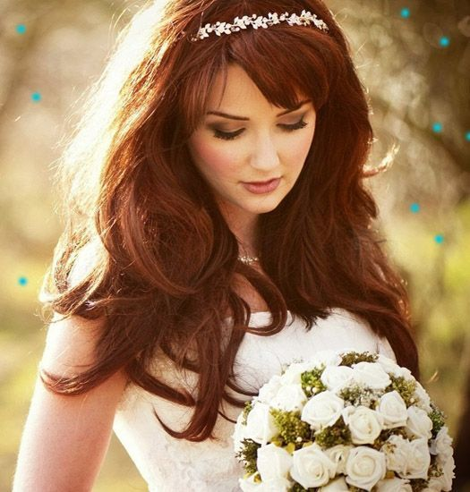 Hairstyle in Decorum for special occasions