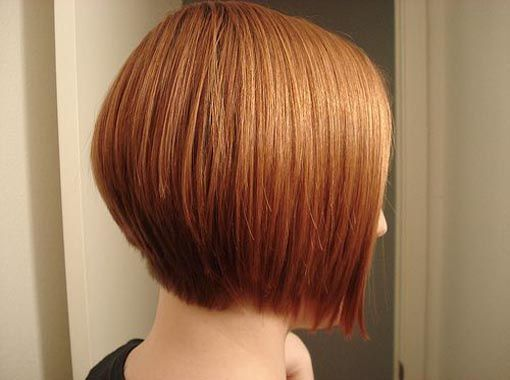 One Length Graduated Bob Hair
