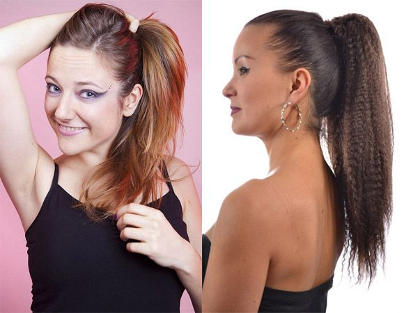 Hot Ponytail Hairstyles for Long Hairs 2015