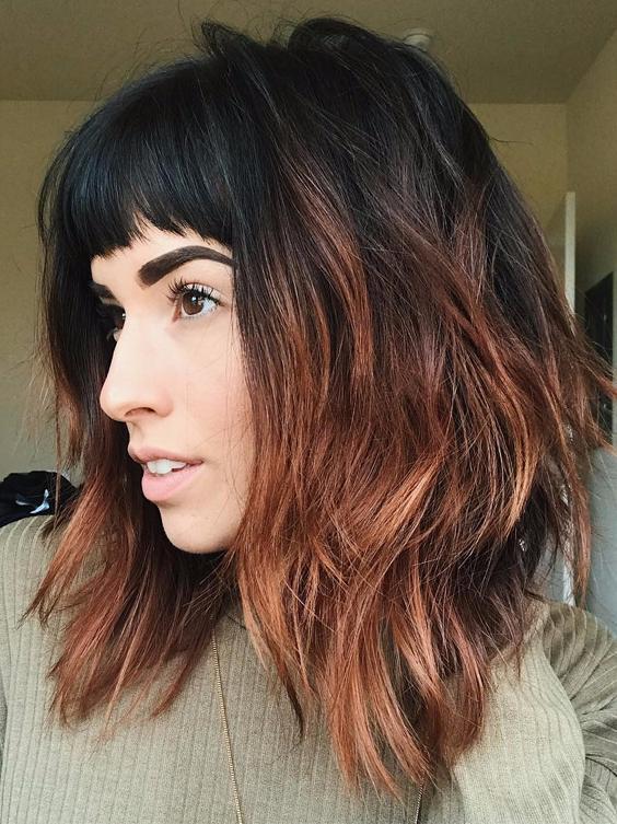 Medium warm blonde haircut for 2018