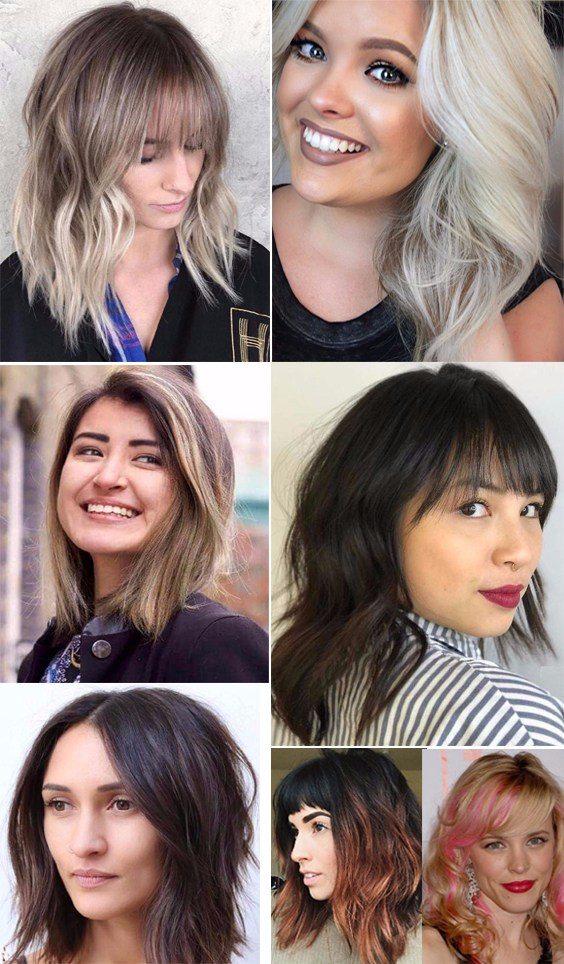 Elegant medium length hairstyles trends for women 2018
