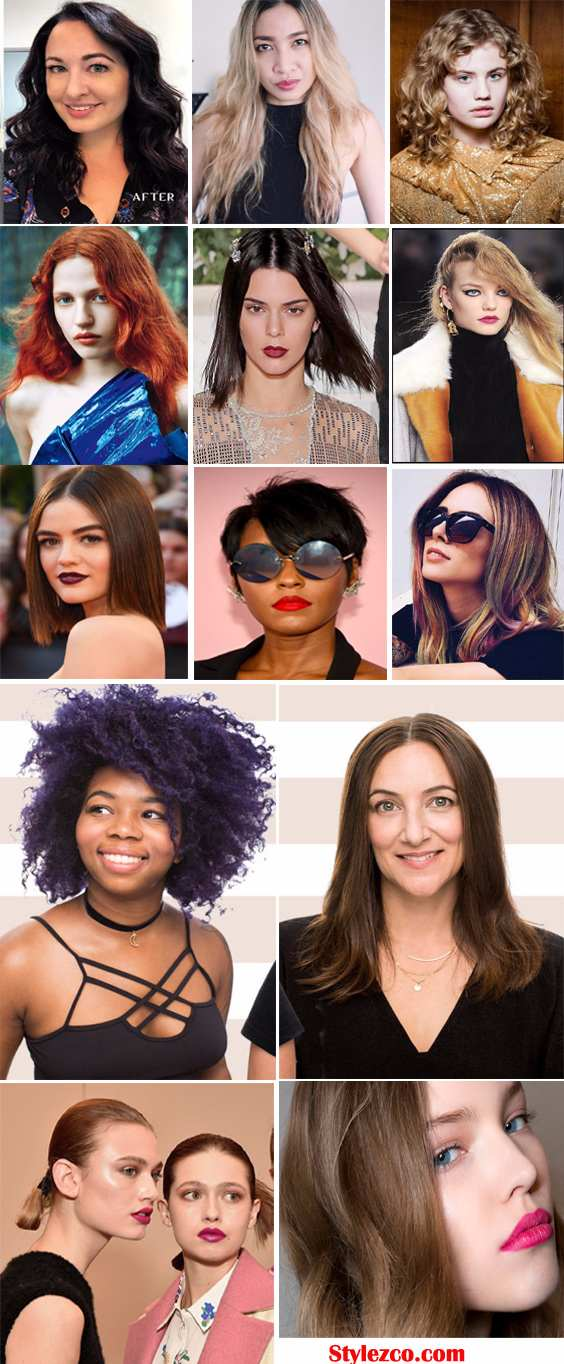 Best Fall-Autumn Hairstyles for 2017