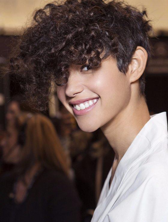Curly Pixie Autumn Winter Haircut 2017 2018