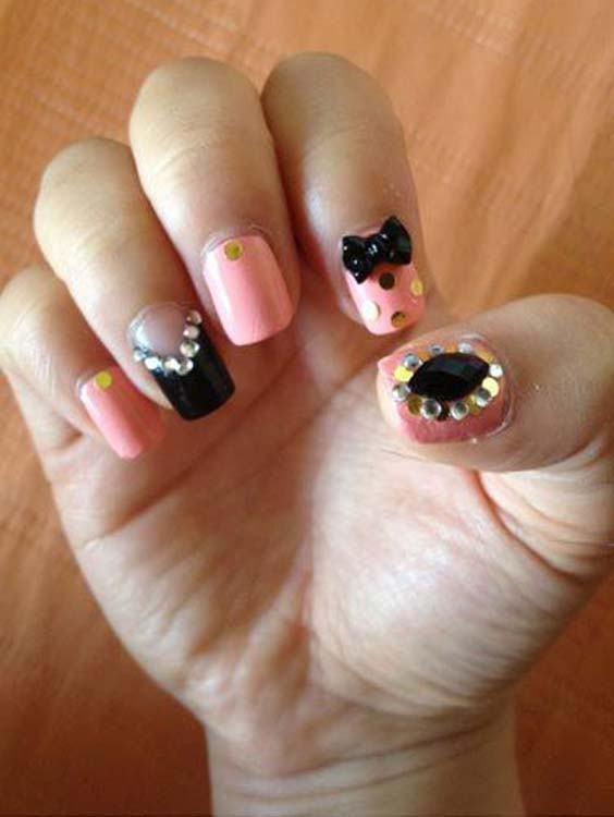 Glitters Nail Designs and Nail Arts