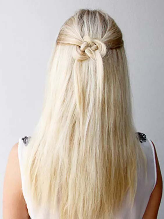 Half Updos for Long Hairstyles