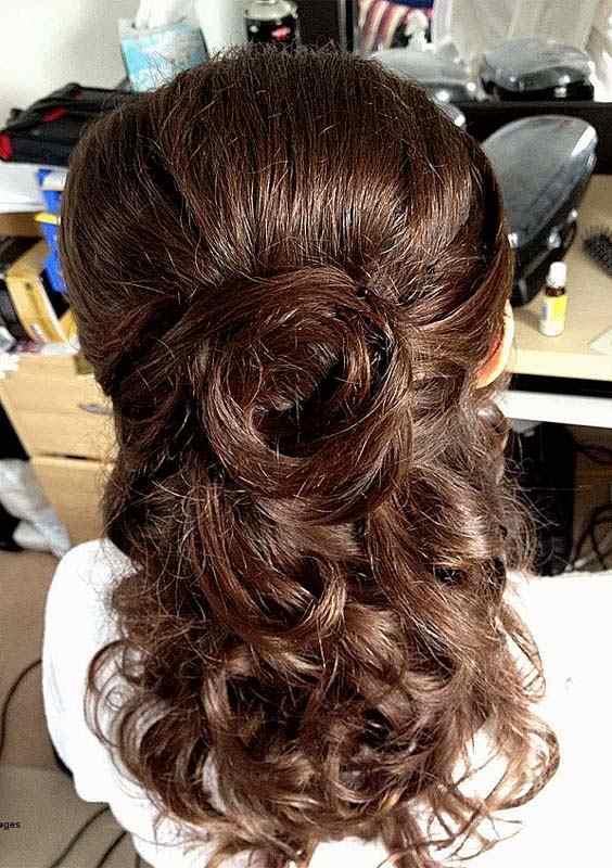 Half up Shoulder Length Curls for 2018