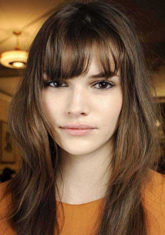 Layered Haircuts with Bangs and Fringes