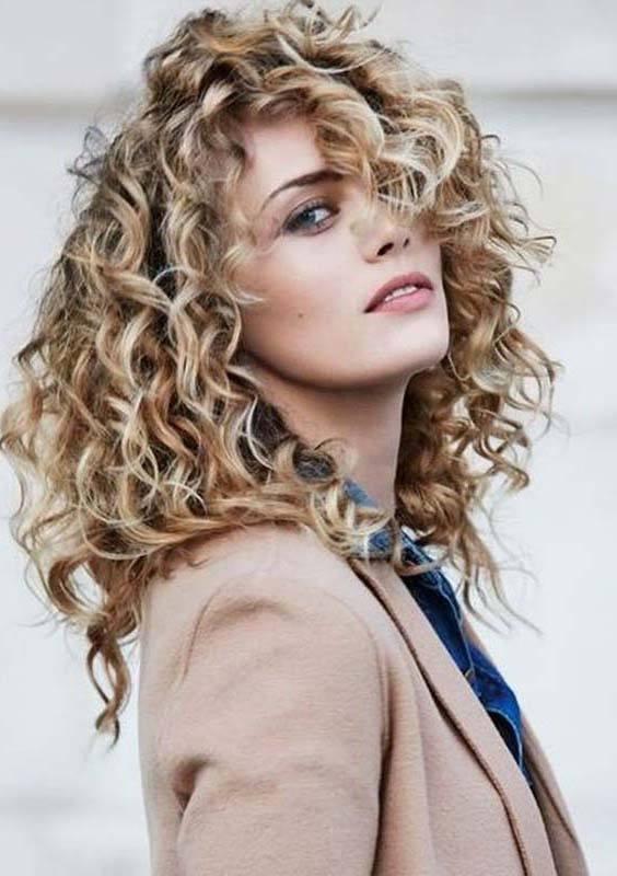 Long Layered Curls for Women