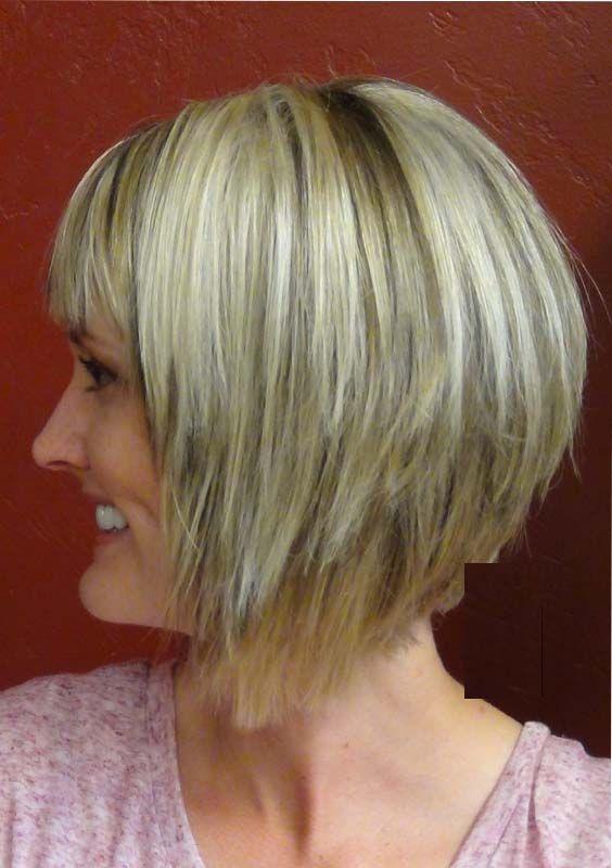 Short A-line Bob Haircuts for Fine Hair