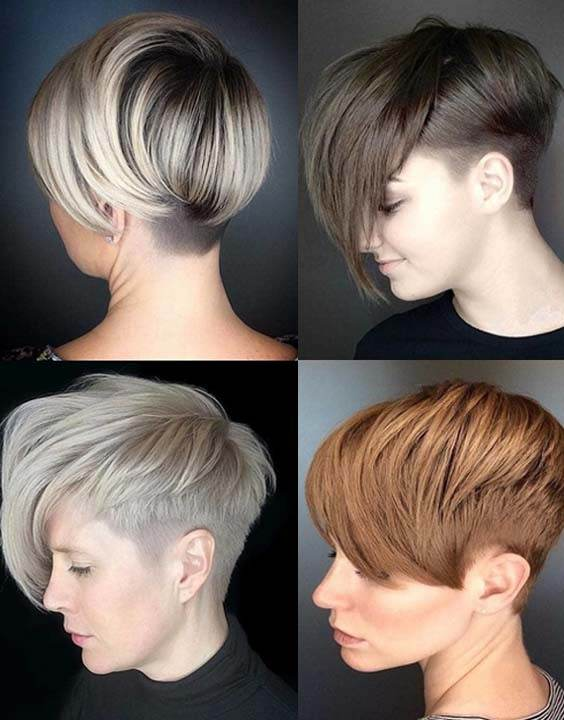 Short Pixie Haircuts for Girls 2018