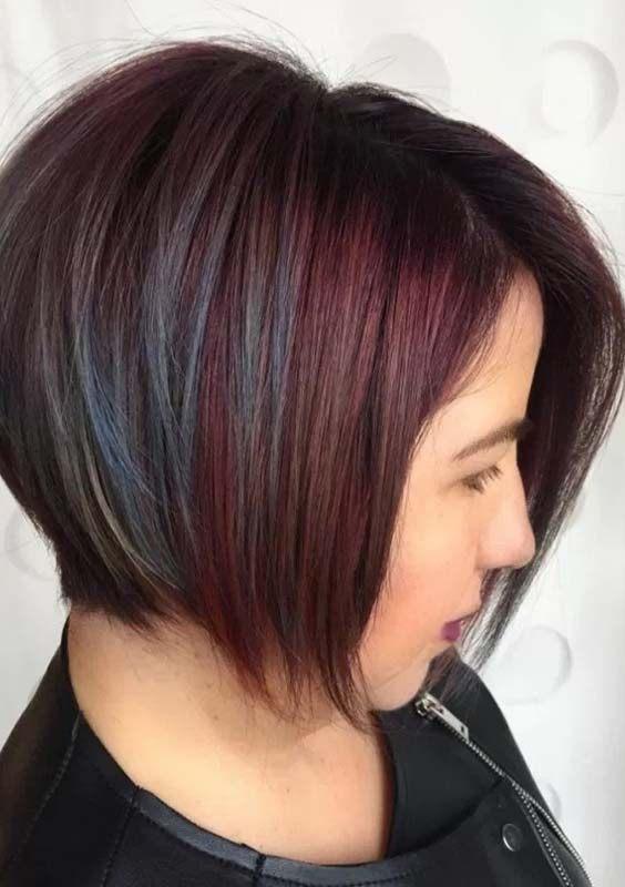 Short Side Haircuts Swept Bangs 2018