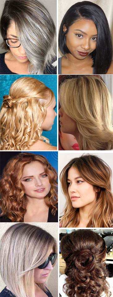 Shoulder Length Hairstyles Trends 2018