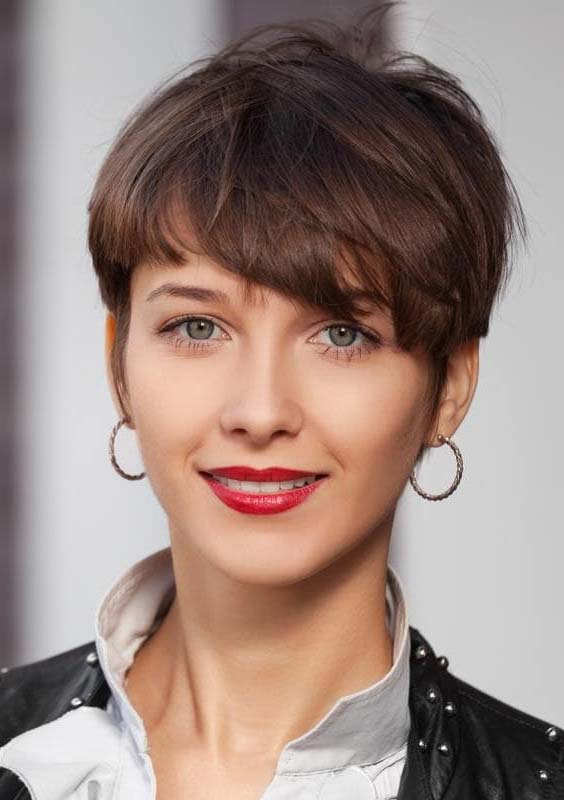 Smooth Short Pixie Styles for Women