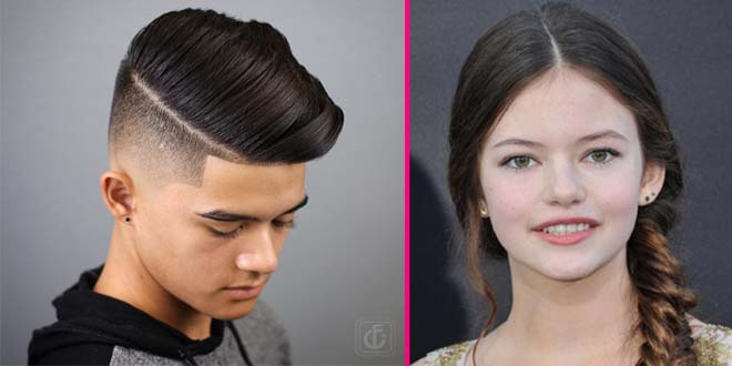 Amazing Teenage Boys and Girls Hairstyles