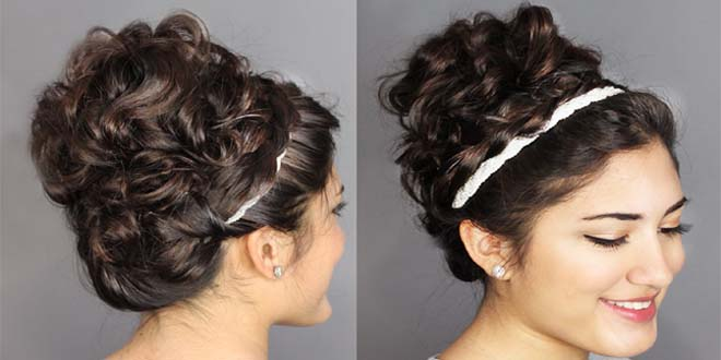 Updos and Bun Hairstyles Trends