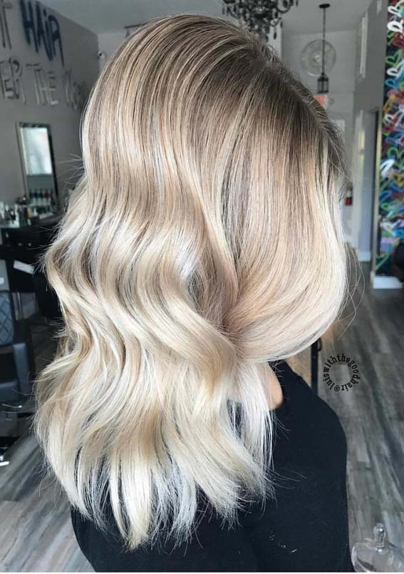 Blonde Balayage Hair Colors & Highlights in 2018