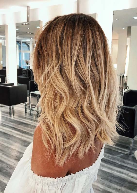 Gorgeous Golden Blonde Hair Color Ideas For Women 2018