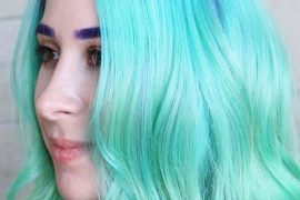 Mermaid Short Green Hair