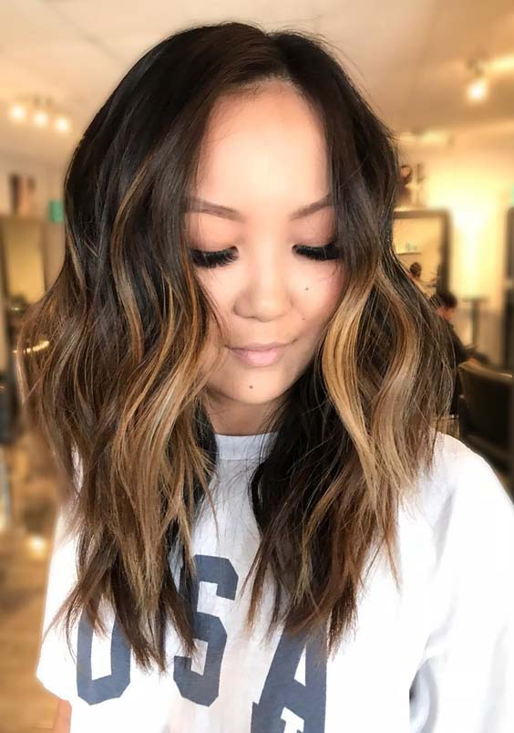 Stunning Brunette Balayage Hair Color Ideas for 2018