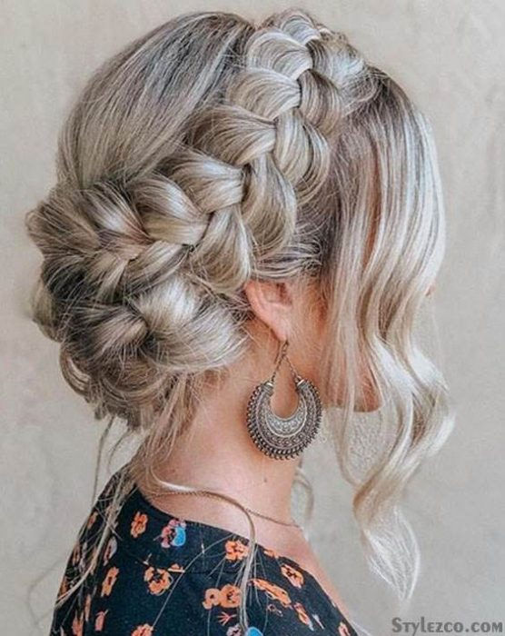 Interesting Updo Braided Hairstyles for Superior Girls In 2018