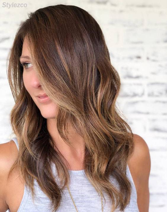 Popular Ideas of Balayage Highlight Hairstyles for 2018