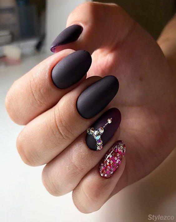 Pretty Nail Art Designs & Styles for 2018 Girls