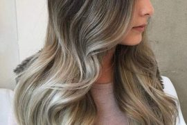 Dirty Ash Blonde Hair Color Ideas with Dark Roots for 2018