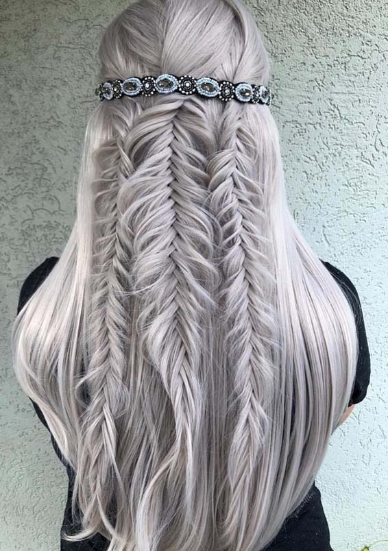 Fishtail Braids & Wedding Hairstyles for 2018