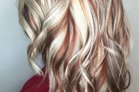Lovely Blonde Red Copper Hair Color Highlights for Every One