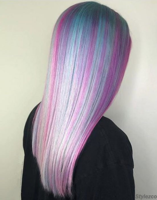 Stylish Ways to Wear Mermaid Purple Hair Color Ideas for 2018