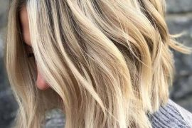 Rooted Blonde Balayage Haircuts for 2018
