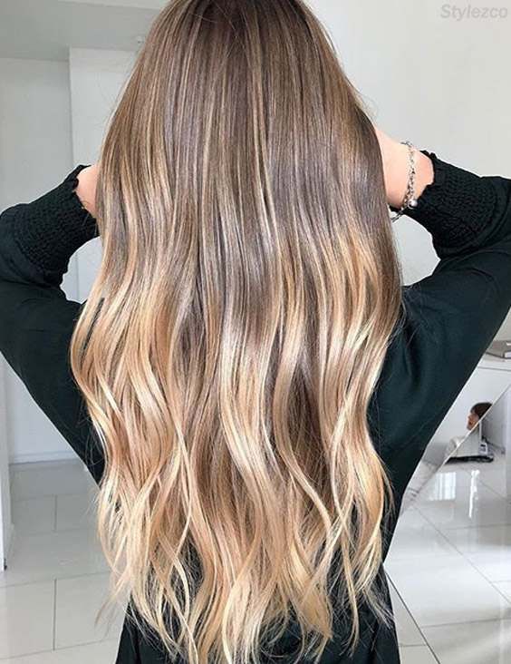 Balayage & Ombre Highlight for Long Hair In 2018