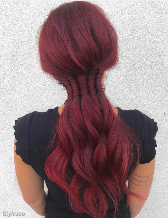 Gorgeous 5 Strand Infinity Braids Hairstyles for 2018