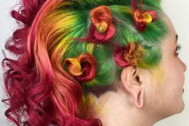 Colorful Hairs & Beautiful Styles For 2018
