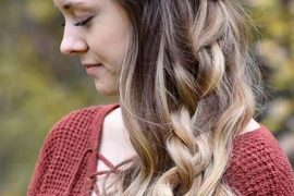Cute Fall Hairstyle For Young Girls in 2018